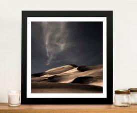 Buy Desert Sand Dunes Framed Landscape Art