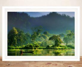 Jungle Lifeline Framed Landscape Artwork