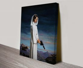 original princess leia canvas art wall print
