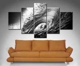 The Hook 5-Panel Wall Art Print on Canvas