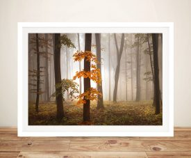 Wispy Woods Art Print on Canvas Wall Art Decorations