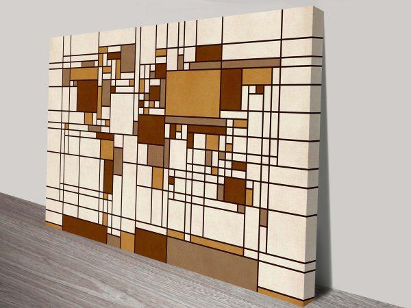 world map abstract mondrian style by michael tompsett wall art canvas