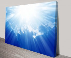 heaven wall art canvas print australia