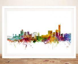 Buy a Manchester Skyline Canvas Print