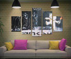 Buy The Mild Mild West Banksy 5-Piece Art Set