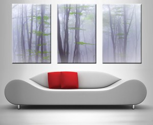 dream trees triptych custom canvas art online