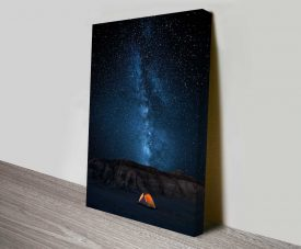 astral camping online wall art print