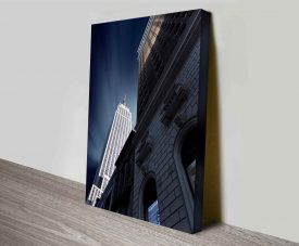 the tallest tower design print into canvas