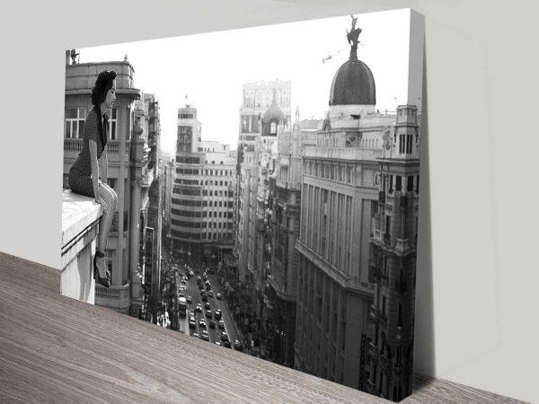 on the ledge wall art photo print