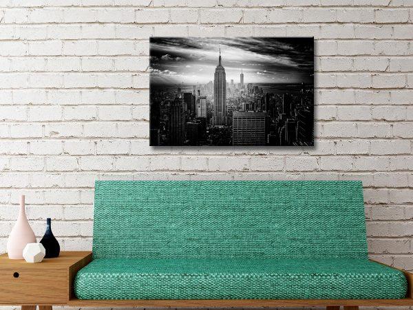 Empire State building Canvas Artwork