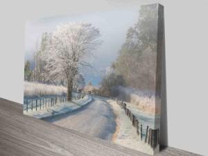 dream winterland canvas print online