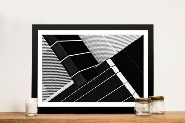 Framed Close Up Architectural Artwork