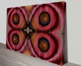 mirrored suraka moth from madagascar custom photo art