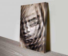amber elena kulikova custom wall art photo