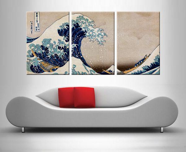 the great wave off kanagawa custom art