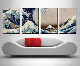 The Great Wave off Kanagawa wall art photo print