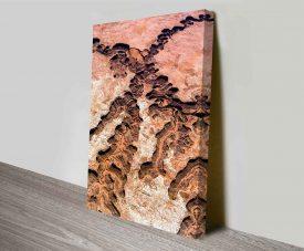 grand canyon wall art canvas prints