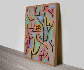 Park Bei Lu by Paul Klee custom canvas print art
