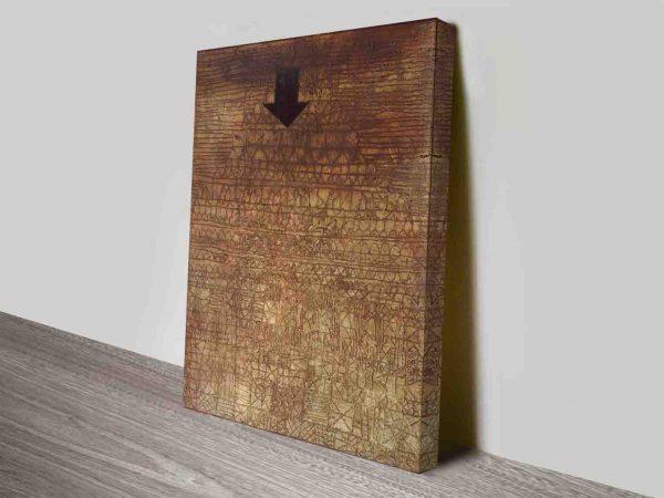 Stricken City by Paul Klee canvas print art