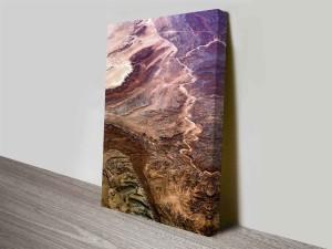 earthly gradients custom photo wall art