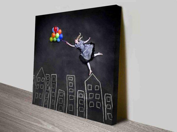 Colour In a Grey World Modern Pop Culture Art Cavnas