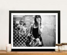 Chain Smoker Self Image and Glamour Photo Shot Art