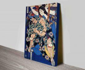 Kusunuki Tamonmaru Traditional Concept Art