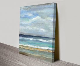 Seashore Canvas Wall Art Print