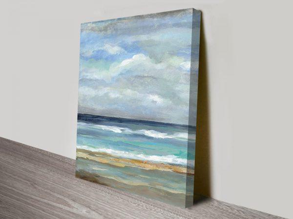 Seashore Canvas Wall Art Print