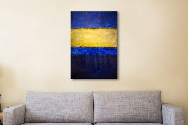 Buy Blue & Yellow Wall Art Home Decor Ideas AU