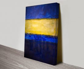 Mark Rothko Blue and Yellow Print