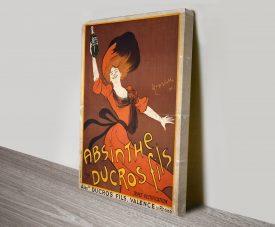 Absinthe Ducros Fils Leonetto Cappiello Vintage Poster Print