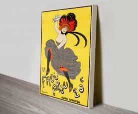 Le Frou Frou vintage poster Leonetto Cappiello canvas print