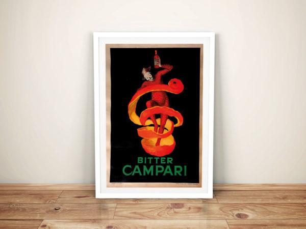 Bitter campari Framed Wall Art Picture