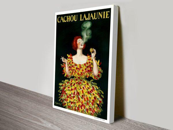 Leonetto Cappiello Cachou Lajaunie Vintage Poster Art Print