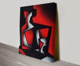 Seated Angst Wall Abstract and Contemporary Art Work