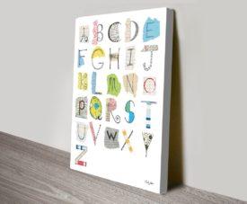 Alphabet I Canvas Work Art Gallery Online