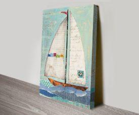 At the Regatta II Canvas Work Art Gallery Online