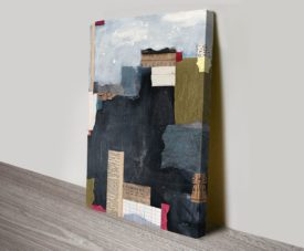 Block Abstract II Canvas Work Art Online Gallery