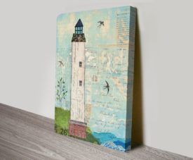 Coastal Lighthouse I Canvas Work Art Online Gallery