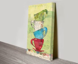 Come for Tea Canvas Work Art Online Gallery