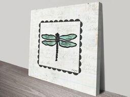 Dragonfly Stamp Artwork | Print