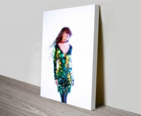 Glitter Print Art on Photos