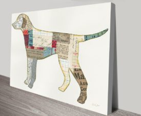 Good Dog V Canvas Work Art Gallery Online