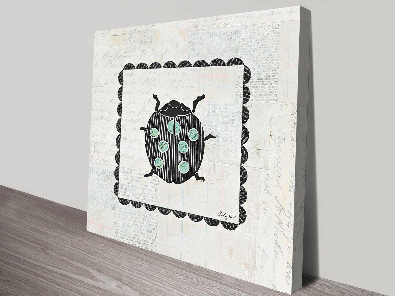 Ladybug Stamp Artwork