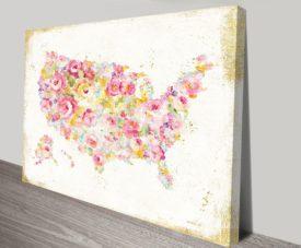 Midsummer USA II Canvas Art