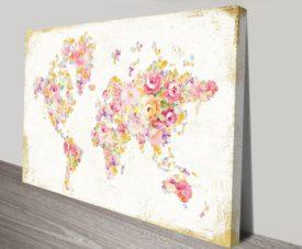 Midsummer World Canvas Workart