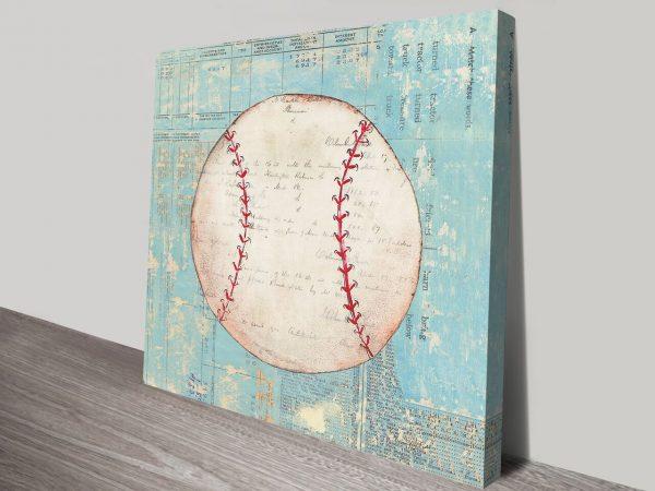 Play Ball I Artwork   Print