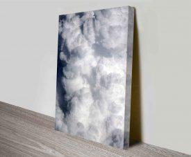 Raging Cloud Prints on Canvas