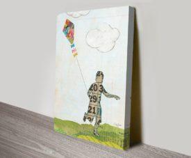Rain and Wind I on Canvas Print Arts Online